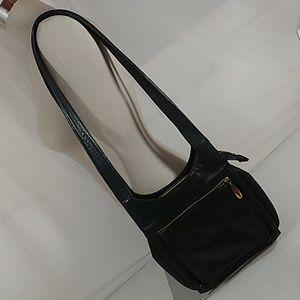 Valerie Stevens Double Strap Shoulder Bag